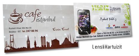 LENSLİ KARTVİZİT